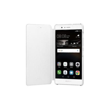 Pouzdro na mobil flipové Huawei P9 Lite Flip Cover - bílé