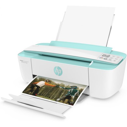 Tiskárna multifunkční HP DeskJet Ink Advantage 3785 A4, 8str./min, 5str./min, 1200 x 1200, 64 MB, duplex, WF, USB - bílá/zelená