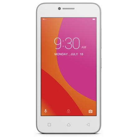 Mobilní telefon Lenovo B Dual SIM - bílý