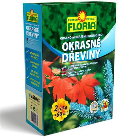 Hnojivo Agro FLORIA pro okrasné dřeviny 2,5 kg