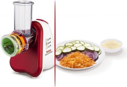 Kuchyňský robot Tefal FreshExpress+ MB756G31 bílý/červený