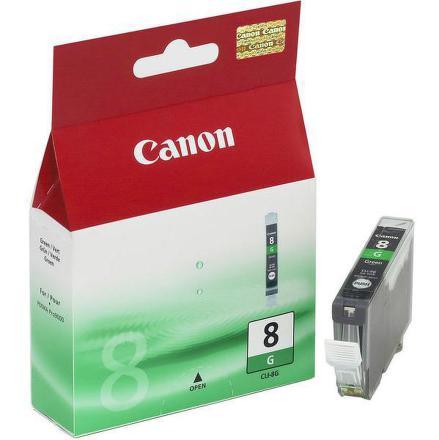 Inkoustová náplň Canon CLI-8G, 420 stran originální - zelená