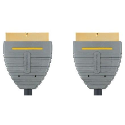 Kabel Bandridge SCART, 2m - černý