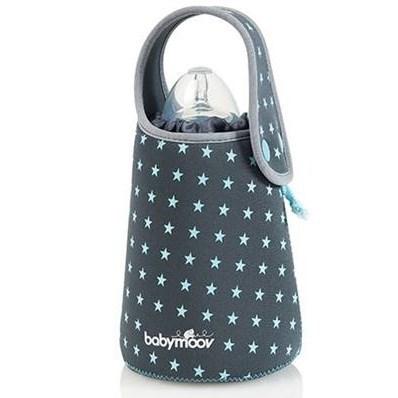 Ohřívač kojeneckých lahví Babymoov Blue Stars cestovní