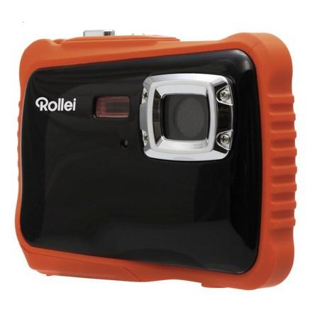 Fotoaparát kompaktní Rollei Sportsline 65, černo/oranžový + Brašna zdarma
