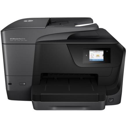 Tiskárna multifunkční HP Officejet Pro 8710 A4, 22str./min, 18str./min, 1200 x 1200, 128 MB, duplex, WF, USB - černá