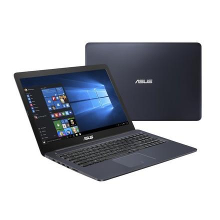 "Ntb Asus Eeebook E502SA-XO123T Celeron N3060, 4GB, 500GB, 15.6"""", HD, bez mechaniky, Intel HD, BT, CAM, W10 - modrý"
