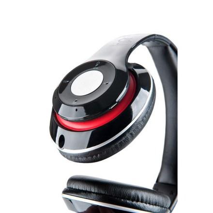 Sluchátka GoGEN HBTM 41BR - černá/červená