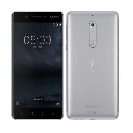 Mobilní telefon Nokia 5 Single SIM - stříbrný