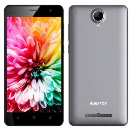 Mobilní telefon Aligator S5062 Dual SIM - šedý
