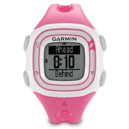 Hodinky Garmin Forerunner 10, růžové/bílé