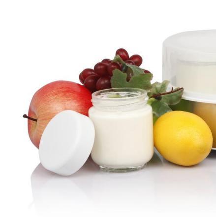 Sada náhradních skleniček Guzzanti GZ 107 k jogurtovači GZ 700