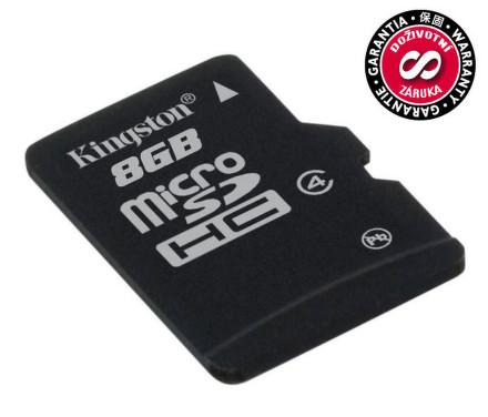 Kingston MicroSDHC 8GB Class4