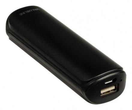 Valueline powerbank 2200 mAh černý