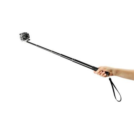 Selfie tyč GoGEN 3 teleskopická, černá