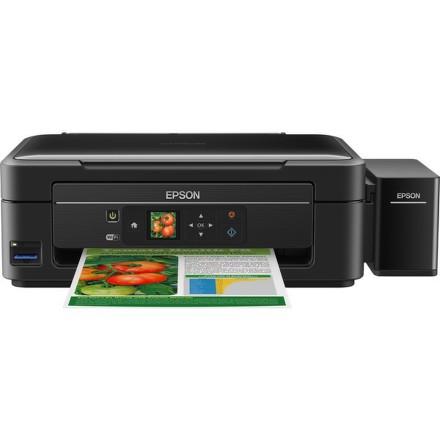 Tiskárna multifunkční Epson L455 A4, 9str./min, 4str./min, WF, USB - černá