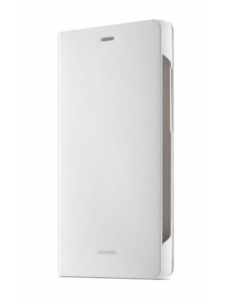 Pouzdro na mobil flipové Huawei pro P8 - bílé
