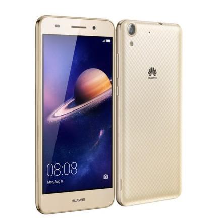 Huawei Y6 II Dual SIM - zlatý + dárek Aligator selfie držák + bluetooth zelený zdarma