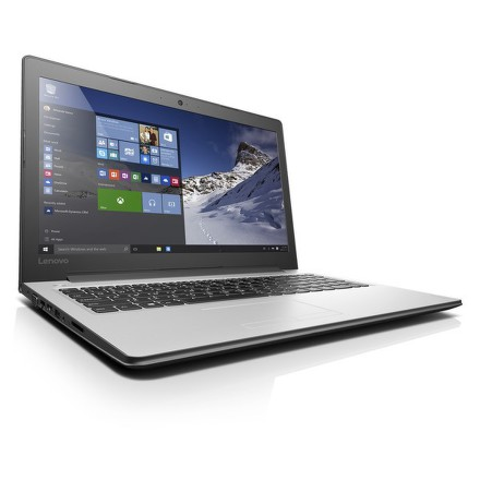 "Ntb Lenovo IdeaPad 310-15ISK i3-6100U, 4GB, 128GB, 15.6"""", Full HD, bez mechaniky, Intel HD 520, BT, CAM, W10 - bílý"