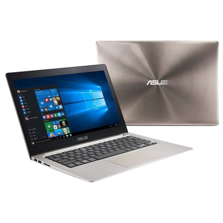 "Ntb Asus Zenbook UX303UA-FN019E i3-6100U, 4GB, 8+500GB, 13.3"""", HD, bez mechaniky, Intel HD 520, BT, CAM, Win10 Pro - hnědý"