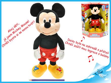 Mickey Mouse plyšový 33cm na baterie