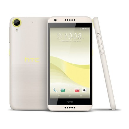 Mobilní telefon HTC Desire 650 Single SIM - lime light - žlutý