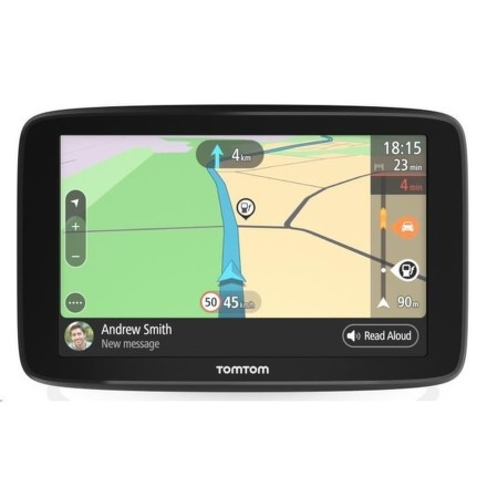 TomTom GO Basic 5'' Europe, Wi-Fi, LIFETIME mapy + dárek Fotbalové křeslo ZDARMA
