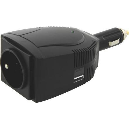 Měnič napětí EMOS 12V/230V, 100W