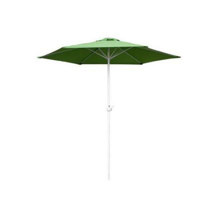 Slunečník Happy Green 50EAU003ALG s kličkou 230 cm, green light