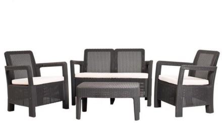 Ratanový nábytek TARIFA hnědý