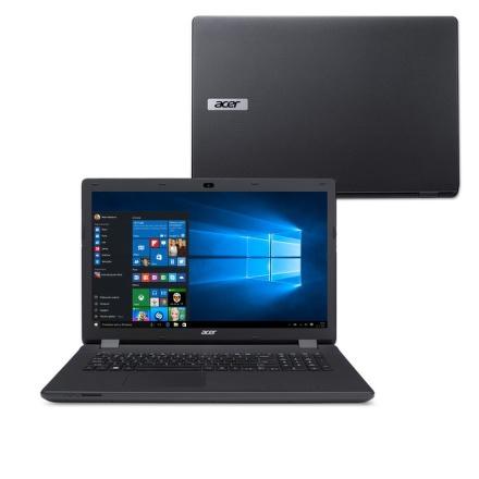 """Ntb Acer Aspire ES17 (ES1-731-P95P) Pentium N3700, 4GB, 1TB, 17.3"""""""", HD+, DVD±R/RW, Intel HD, BT, CAM, W10 - černý"""