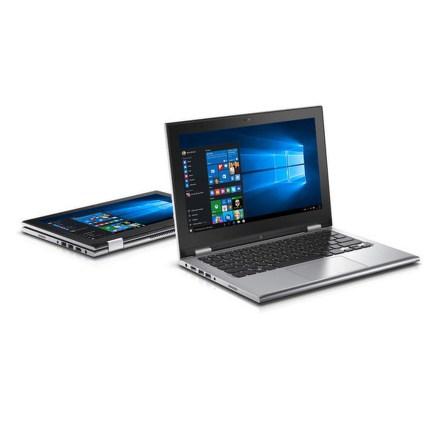 """Ntb Dell Inspiron 11z (3148) Touch i3-4030U, 4GB, 500GB, 11.6"""""""", HD, bez mechaniky, Intel HD 4400, BT, CAM, W8.1 - stříbrný"""