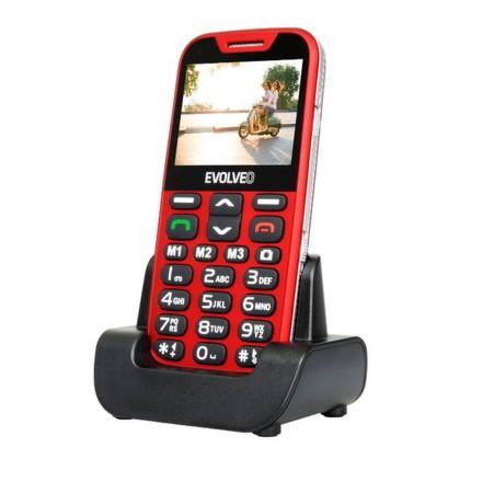 Mobilní telefon Evolveo EVOLVEO EasyPhone XD pro seniory - červený