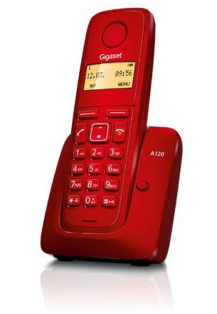 Domácí telefon Siemens Gigaset A120 - červený