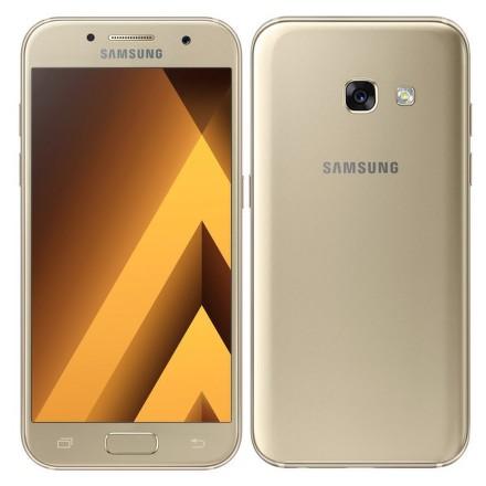 Mobilní telefon Samsung Galaxy A3 (2017) - zlatý