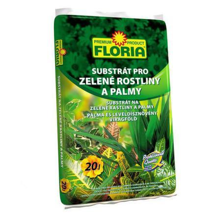 Substrát Agro FLORIA pro zelené rostliny a palmy 20 l
