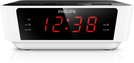 Radiobudík Philips AJ3115 s FM tunerem, bílý
