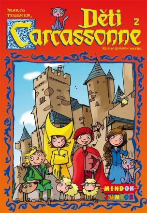 Hra Mindok Carcassonne děti