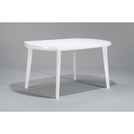 Stůl Allibert Elise bílý