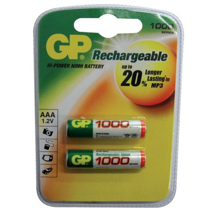 GP RC03 1000mAh NiMH (2ks - blistr)