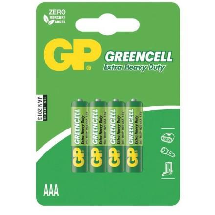 GP R3 GREEN (4ks - blistr)