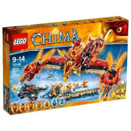 Stavebnice Lego® CHIMA 70146 Létající ohnivý chrám Fénix