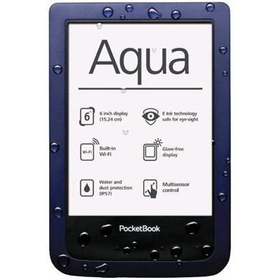Čtečka e-knih Pocket Book Aqua 640 - modrá