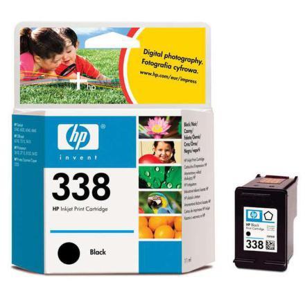 Inkoustová náplň HP No. 338, 11ml, 450 stran originální - černá