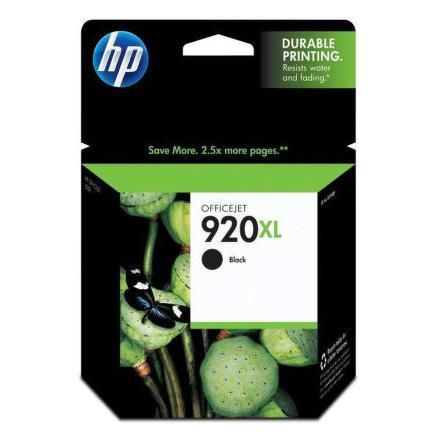 Inkoustová náplň HP No. 920XL, 1200 stran originální - černá