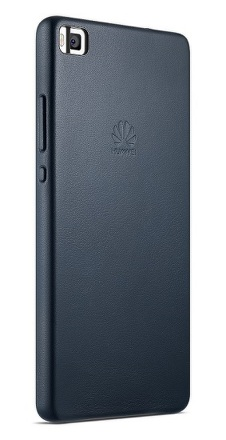 Kryt na mobil Huawei P8 kožené - modrý