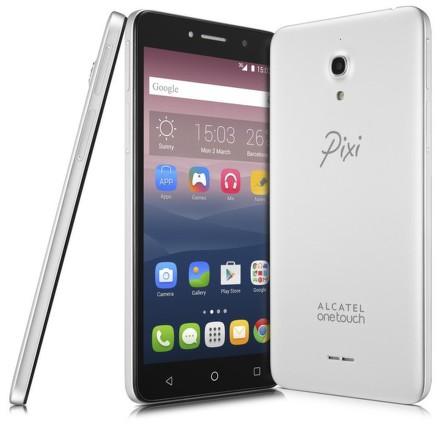 Mobilní telefon ALCATEL PIXI 4 (6) 8050D - stříbrný