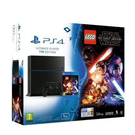 Herní konzole Sony PlayStation 4 1TB + LEGO Star Wars: The Force Awakens