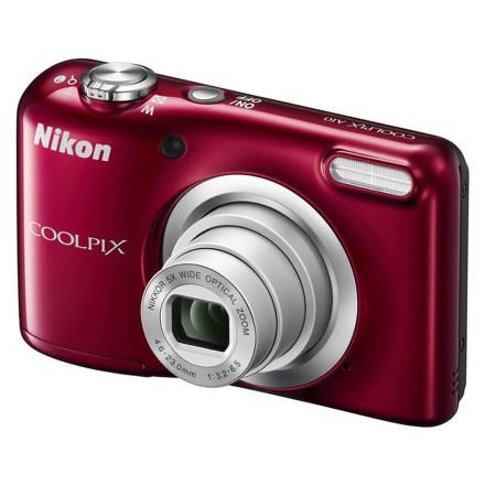 Fotoaparát Nikon Coolpix A10, červený