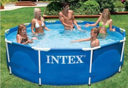 Bazén Intex Frame Set Rondo 3,05x0,76 m bez filtrace